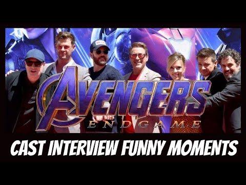 Avengers: Endgame Cast Funny Moments [pt. 2]