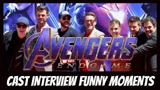 Avengers: Endgame Cast Funny Moments [pt. 2]