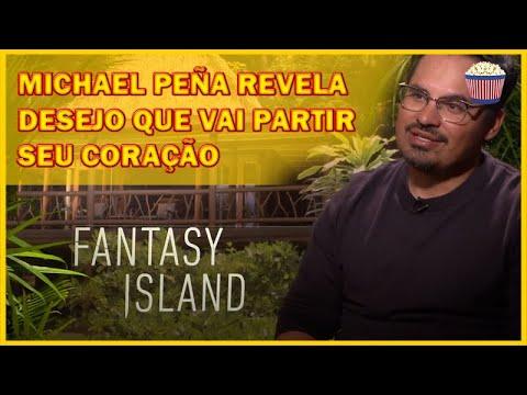 'A Ilha da Fantasia': Michael Peña revela desejo que vai partir seu coração
