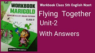 Workbook class 5th english flying together