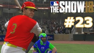 BABE RUTH HAS AN EPIC GAME | MLB The Show 18 | Diamond Dynasty # 23