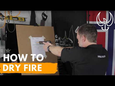 Learn How to Dry Fire Practice at Home - Step-by-Step from Navy SEAL Firearms Instructor