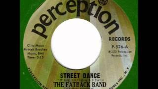 FATBACK BAND  Street Dance  70s Soul Classic