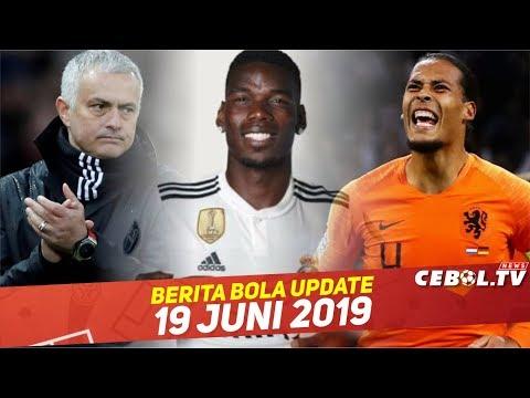 Jose Mourinho Latih Tim Nasional 🔴 Pogba Dianggap Perusuh Tim 🔴 Van Dijk  Melempem Di Timnas