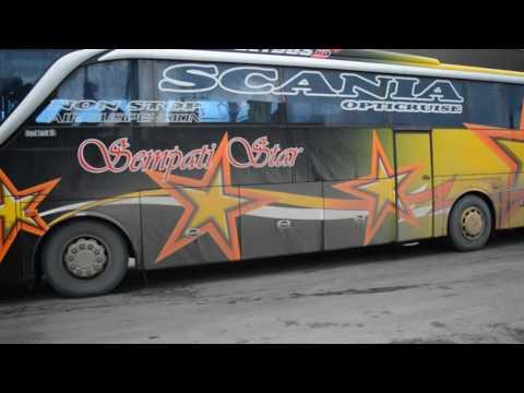 Sensasi Menikung Bus Sempati Star Non Stop