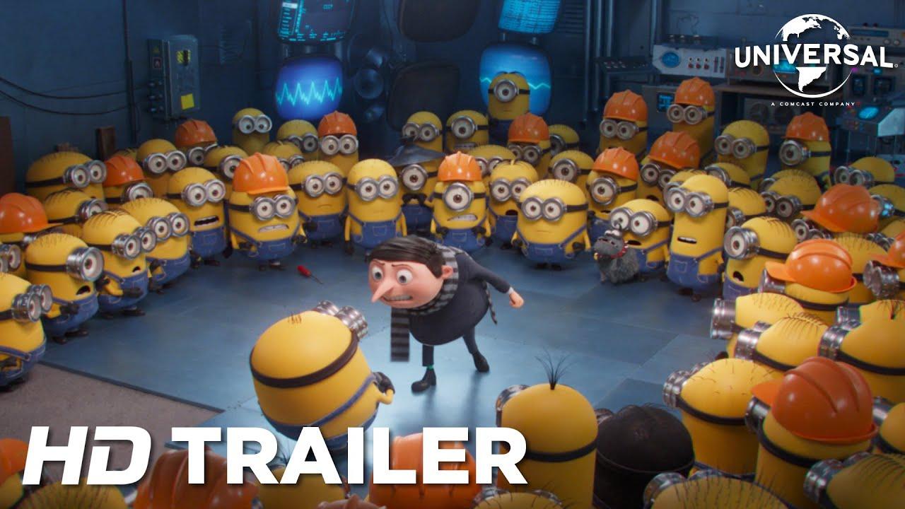 Minioner: Berättelsen om Gru - Officiell trailer (Universal Pictures) HD