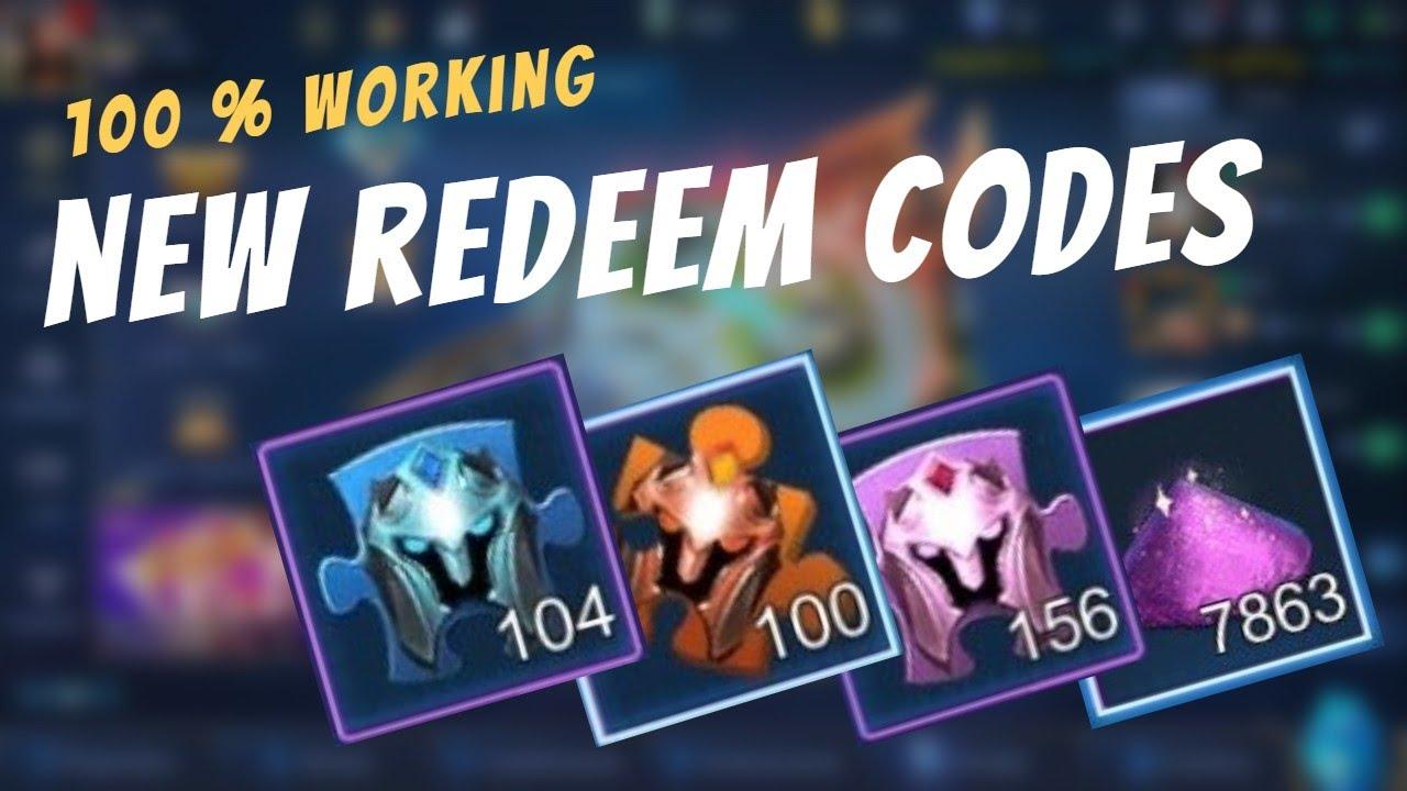 100% WORKING NEW REDEEM CODES | REDEEM NOW ~ MLBB