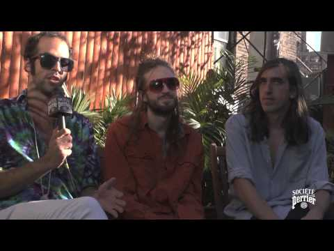Société Perrier x Crystal Fighters Interview