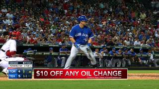 Texas Rangers   Toronto Blue Jays August 25 2015