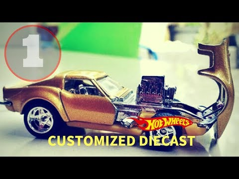 Custom Hot Wheels Cars (Open Hood ) Inspiration Collection #1