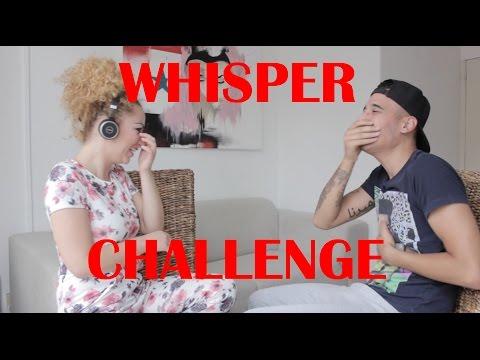 WHISPER CHALLENGE MET MIJN VROUW