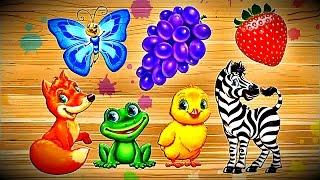 ВИДЕО для ДЕТЕЙ Веселое Развивающее - Учим Цвета(Учим с детишками разный цвет - развивающий мультфильм для самых маленьких (дошкольников и школьников). https://w..., 2016-07-29T16:00:03.000Z)