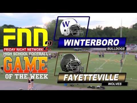 FNN Winterboro at Fayetteville High School Football