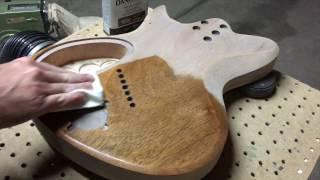 Filling Wood Grain On A Guitar
