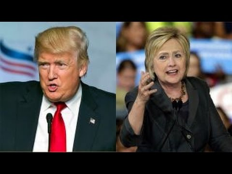 Trump and Clinton clash over national security