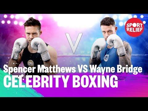 Spencer Matthews vs Wayne Bridge   Celebrity Boxing - Sport Relief 2018 - BBC