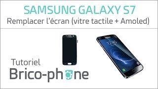 Tutoriel Samsung Galaxy S7 : remplacer le bloc écran (vitre tactile + écran AMOLED)  HD