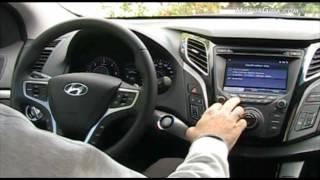 Hyundai i40 sedan, an lisis asientos delanteros