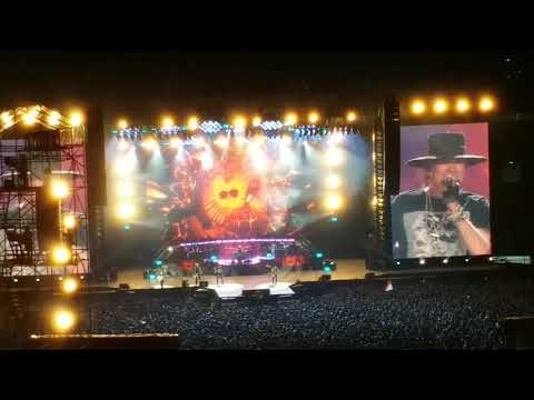 Paradise City (GnR) - Live in Jakarta 2018 Mp3