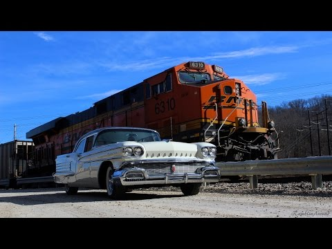 Test Driving 1958 Olds 88 - Powered by 371 Rocket V8