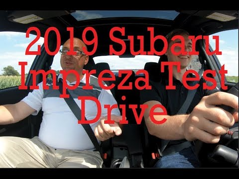 2019 Impreza Test Drive