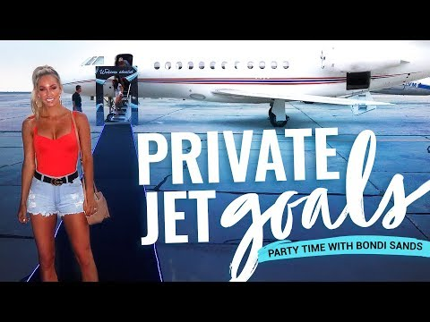 PRIVATE JET GOALS - Bondi sands PARTY time and Sammy gets cheeky !