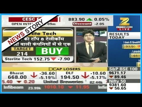Stocks of Sterlite tech recommended for buy by experts