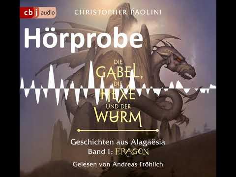 Die Gabel, die Hexe und der Wurm YouTube Hörbuch Trailer auf Deutsch