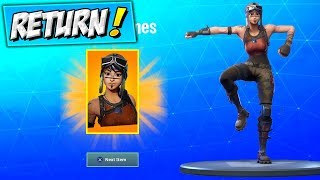 RENEGADE RAIDER RETURN (CONFIRMADO) Temporada Fortnite 1 Pieles RETURNING / COMING BACK (Cómo Llegar)