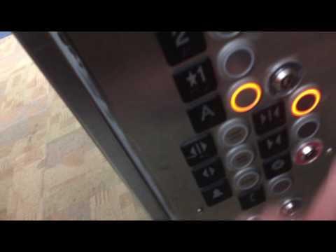 Montgomery/KONE Hydraulic Elevator @ Building 4, Black Hawk College, Moline, IL (retake)