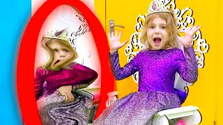 Five Kids Magic Mirror Song + more Children's Songs and Videos