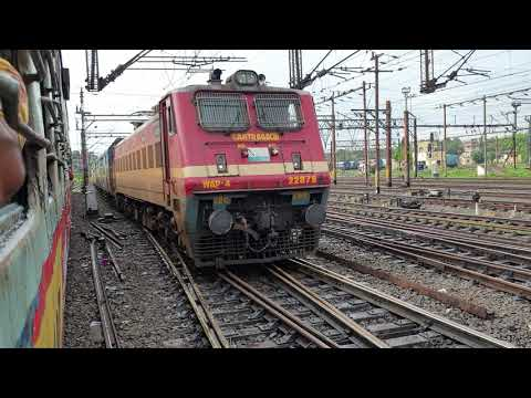 Perfect CROSSING Trains, Indian Railway Video in 4k ultra HD