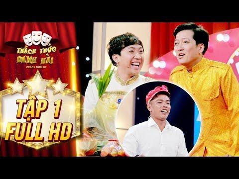 Thách thức danh hài 4 | tập 1 full: Trấn Thành, Trường Giang