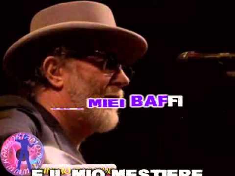 Francesco De Gregori - Bufalo Bill (karaoke - fair use)