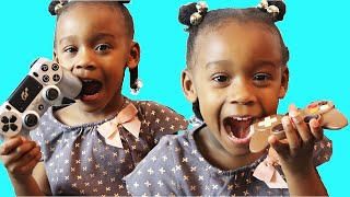 Funny staged chocolate challenge | CHOCOLATE Food Vs REAL prank