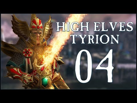 CAUGHT OFF GUARD - High Elves: Tyrion (Legendary) - Total War: WARHAMMER II - Ep.04!