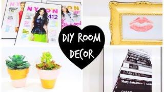 4 DIY Room Decor Ideas ♡ | BeautybyBlaire Thumbnail