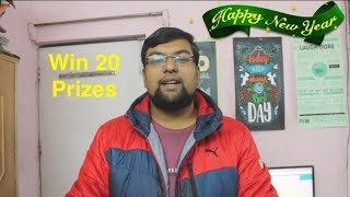 Happy New year 2018, Giveaway Win 20 Prizes | Honor View 10 India Unboxing