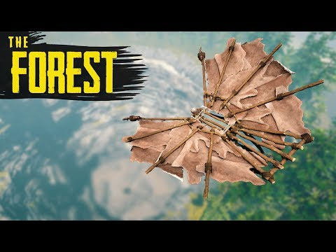 GLIDING INTO THE SINKHOLE! The Forest New Update