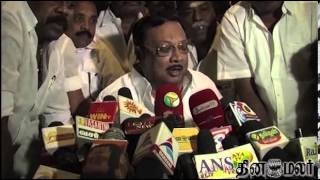 Daddy is a Lier Says DMK Leader Karunanidhi Son Alagiri - Dinamalar Jan 28th 2014 Tamil Video News