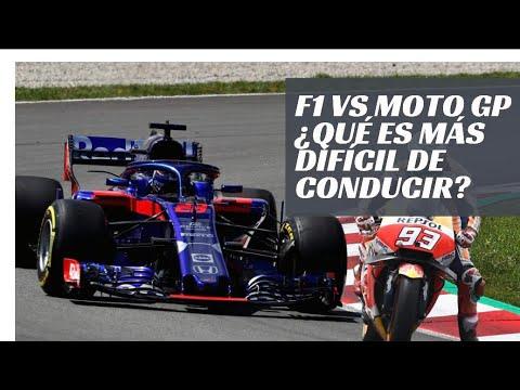 MotoGP vs Formula 1.... ¿Qué es más difícil de conducir?