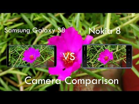 Nokia 8 camera Vs Samsung Galaxy S8 Camera Comparison