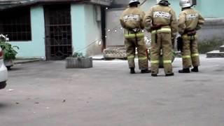 Возгорание трансформатора в Симферополе