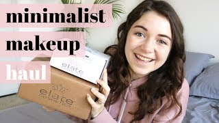 MINIMALIST & LOW WASTE MAKEUP HAUL | + z-palette depotting