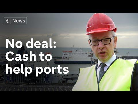 No-deal Brexit latest: £9m to prepare ports