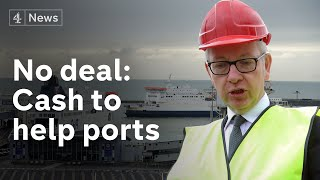 No-deal Brexit latest: £9m to prepare ports