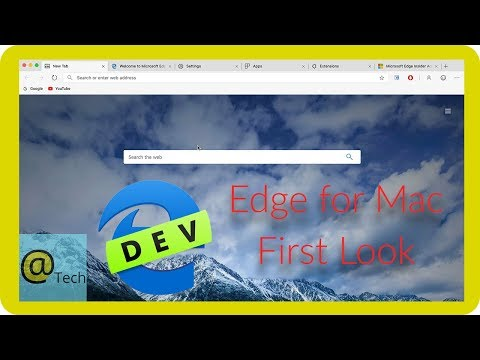 First Look: Microsoft Edge For Mac (With Download)