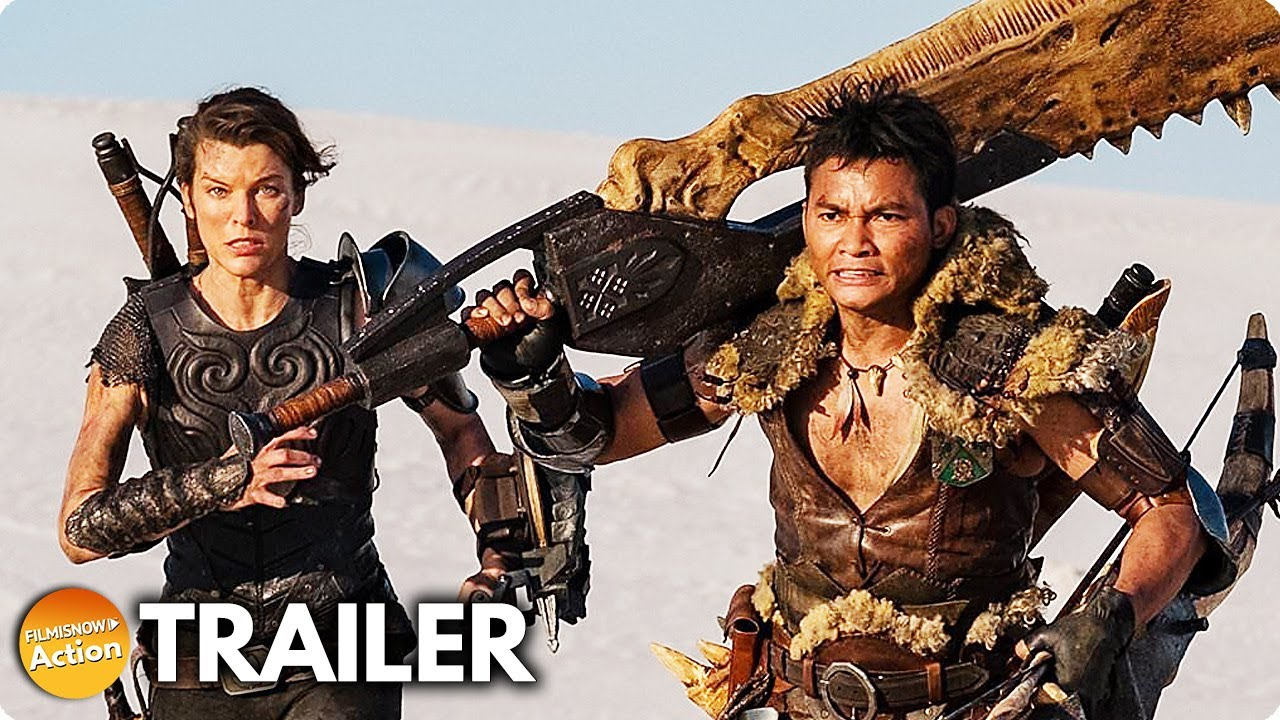 MONSTER HUNTER (2020) # Milla Jovovich | Tony Jaa Action Movie