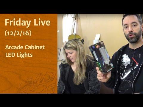 Friday Live! - Arcade Cabinet & LED Lights
