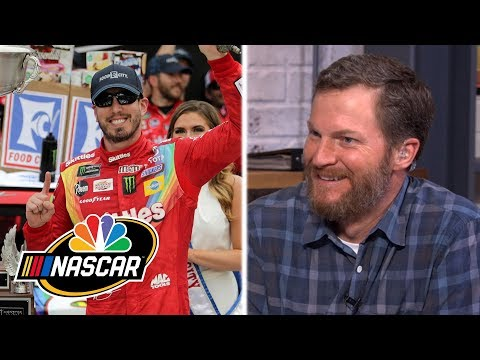 Dale Jr. impressed by Kyle Busch's 'gritty' NASCAR Cup win at Bristol | Motorsports on NBC